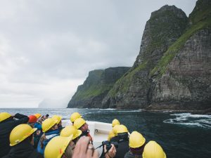 Bird cliffs - Faroe Islands